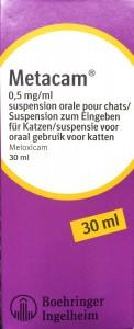 Metacam pijnmedicatie voor katten